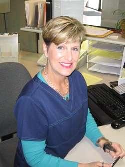 Chiropractic Assistant Kimberly Simonsen