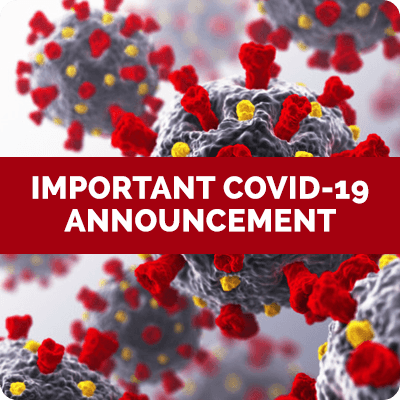 Important COVID-19 Announcement